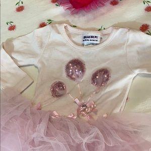 Bluberri Boulevard pink tutu dress